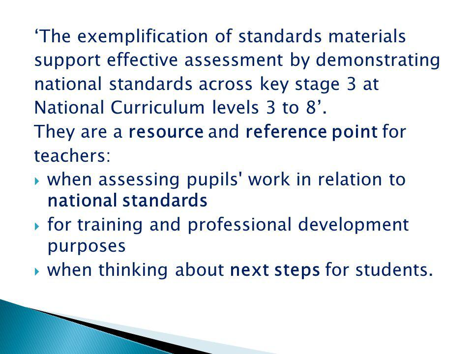  Reflect on the key messages when assessing pupils in PE.