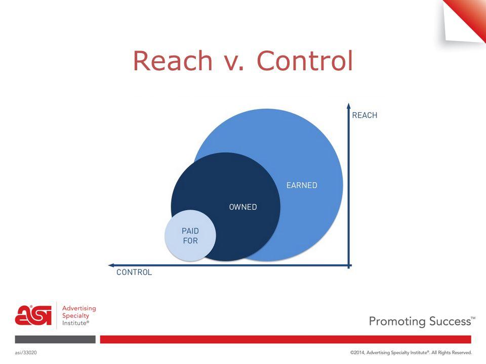 Reach v. Control