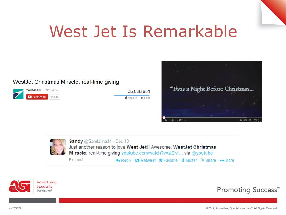West Jet Is Remarkable