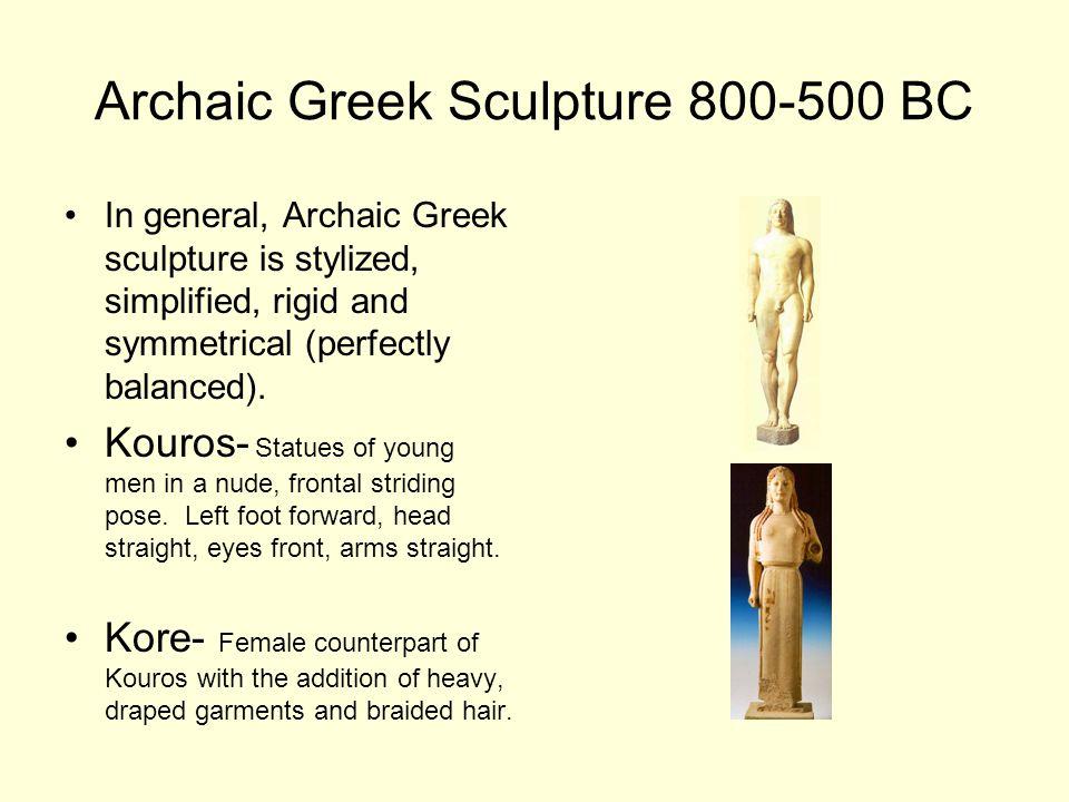 Calf Bearer 550 BC.