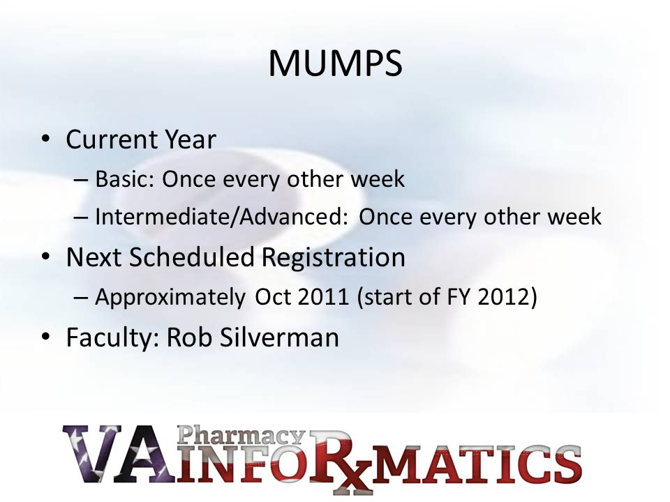 Access to Content PBM Clinical Informatics Education and Training SharePoint Site – Link to Top of Site: http://vaww.infoshare.va.gov/sites/vapharmacy informatics/PBMCIETSITE/default.aspx http://vaww.infoshare.va.gov/sites/vapharmacy informatics/PBMCIETSITE/default.aspx Recordings are currently being hosted on a separate server