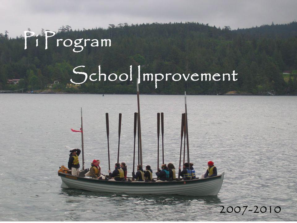 Pi Program School Improvement 2007-2010