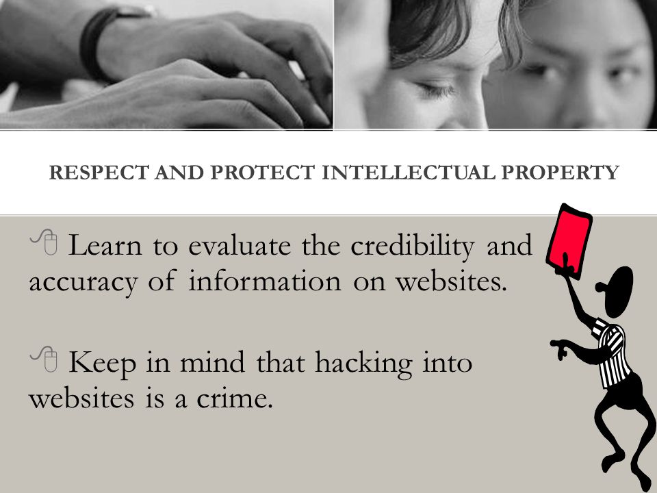  Learn to evaluate the credibility and accuracy of information on websites.