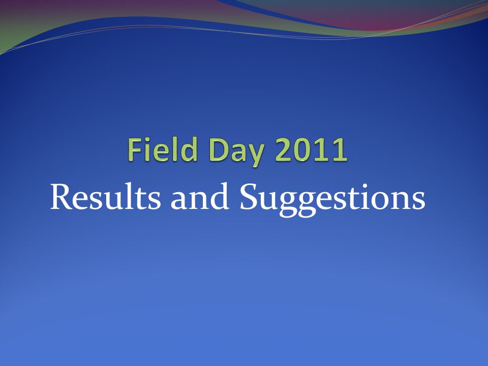 A special thanks for all those that made FD 2011 an enjoyable and successful experience! Thank you!