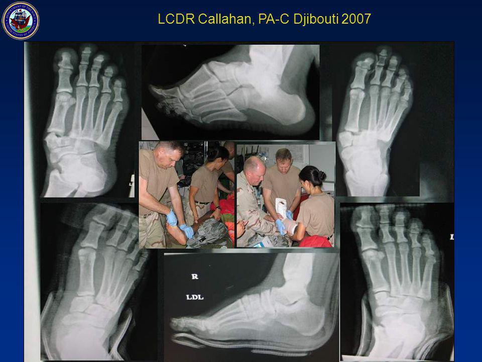 LCDR Callahan, PA-C Djibouti 2007