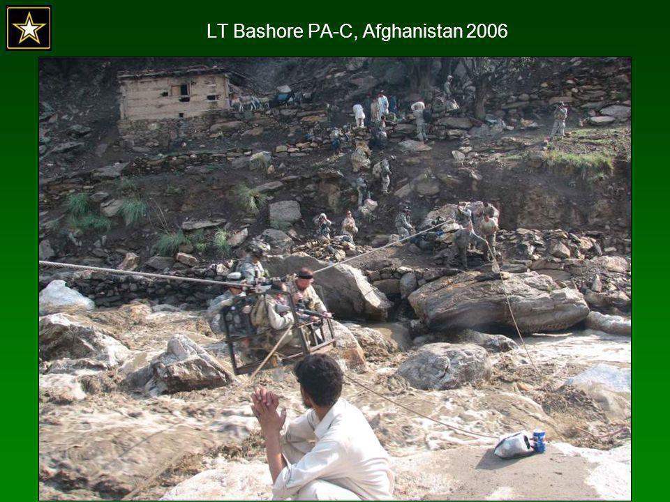 LT Bashore PA-C, Afghanistan 2006
