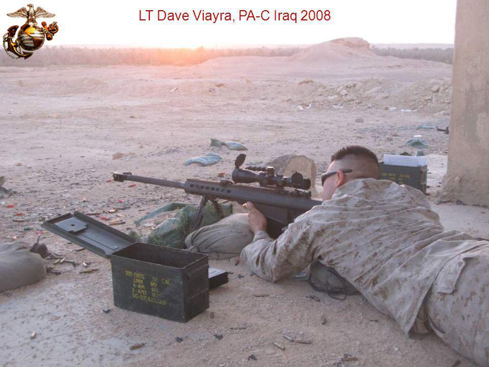 LT Dave Viayra, PA-C Iraq 2008