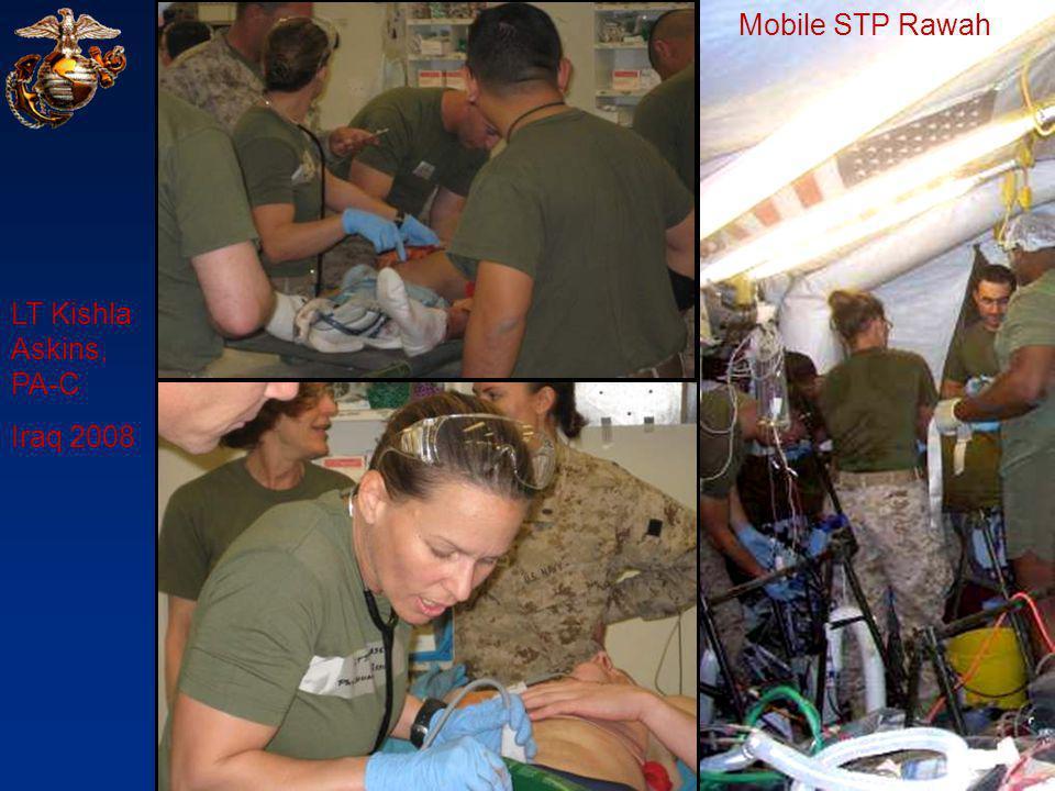 LT Kishla Askins, PA-C Iraq 2008 Mobile STP Rawah