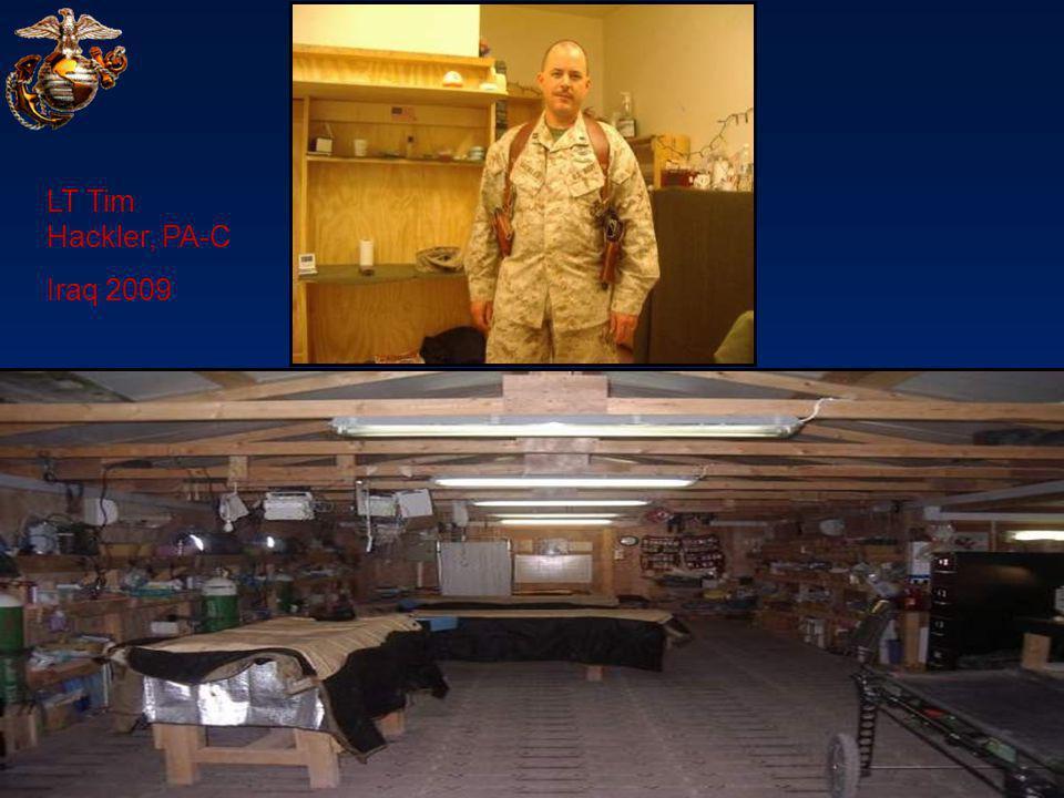 LT Tim Hackler, PA-C Iraq 2009