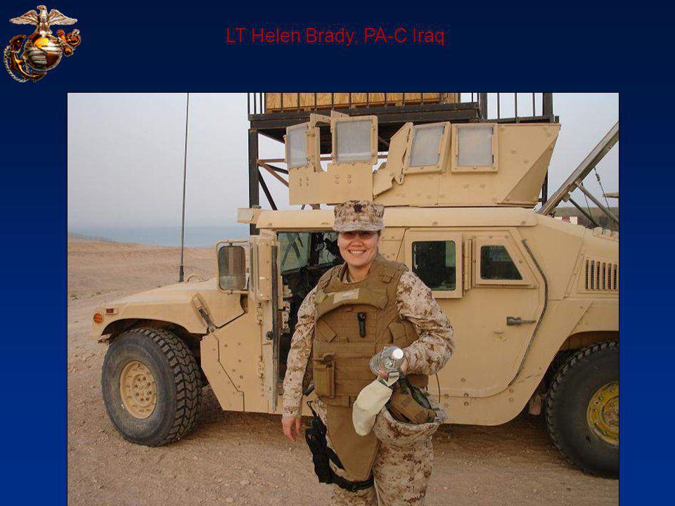 LT Helen Brady, PA-C Iraq
