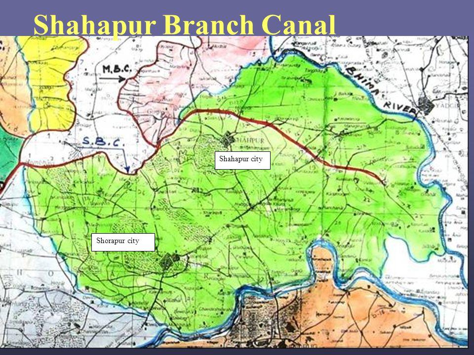 Shorapur city Shahapur city Shahapur Branch Canal