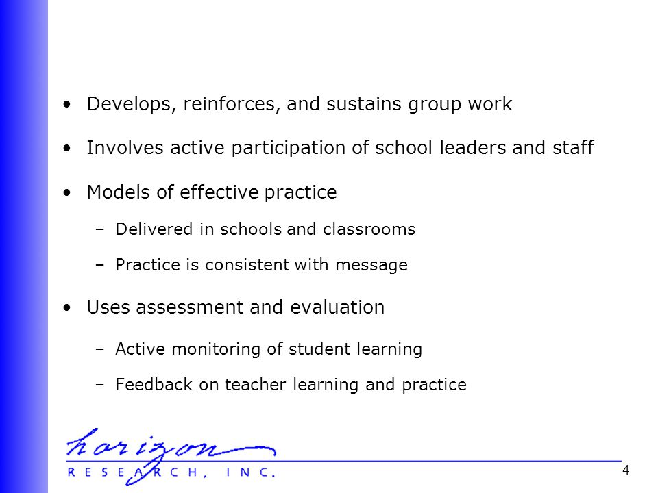 5 there is very little empirical evidence on the features of effective professional development.