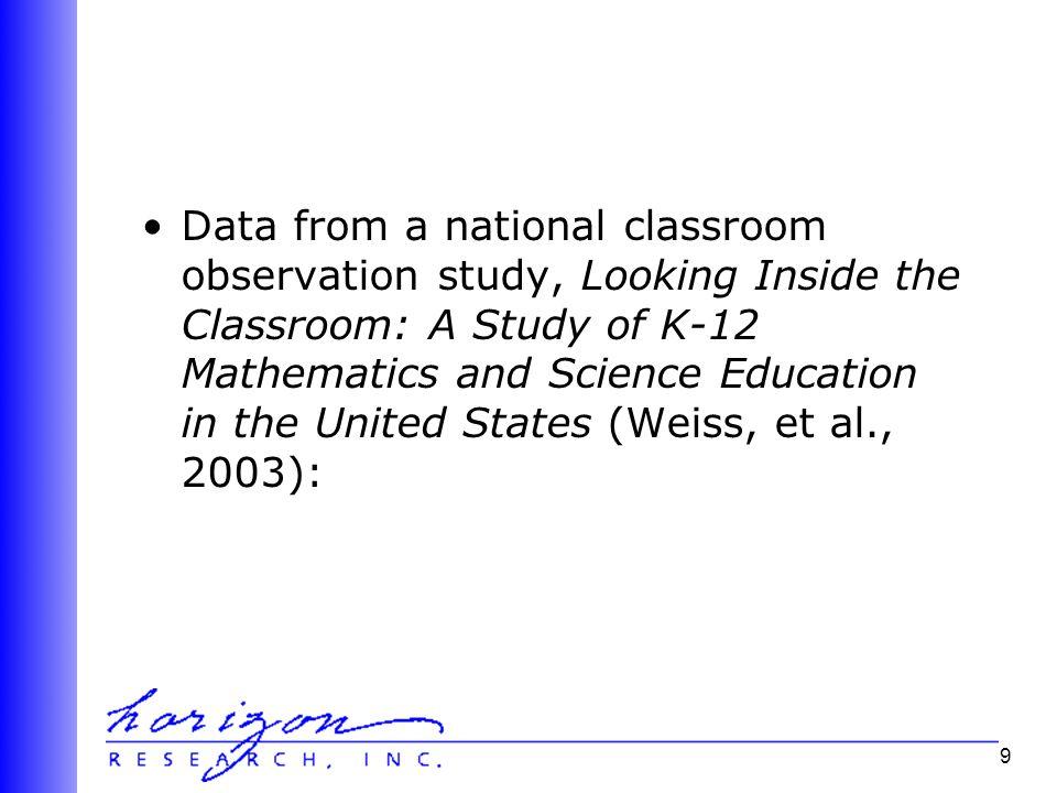 40 To summarize: 1.Mathematics/science teachers need content-focused PD.