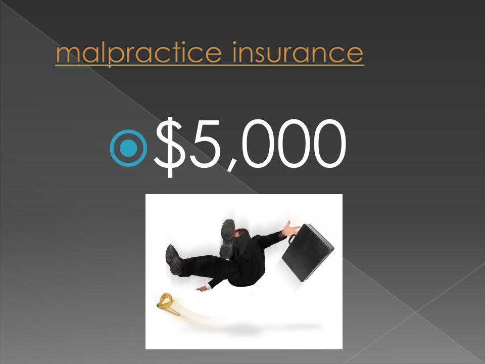 $$5,000