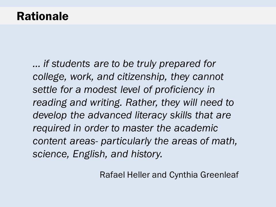 History-Social Science in the CCSS: Through the writings of our students we are reminded of their individuality.