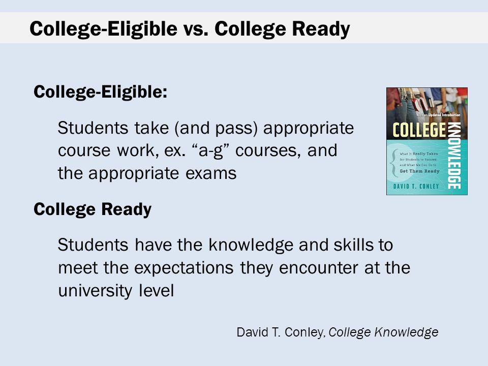 College-Eligible vs.