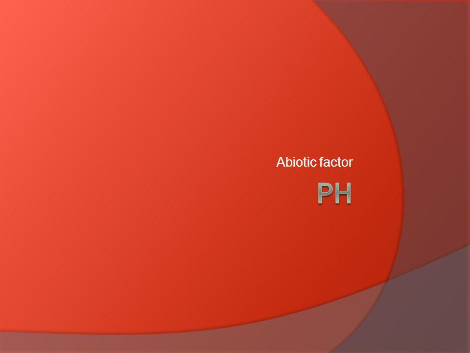 Abiotic factor