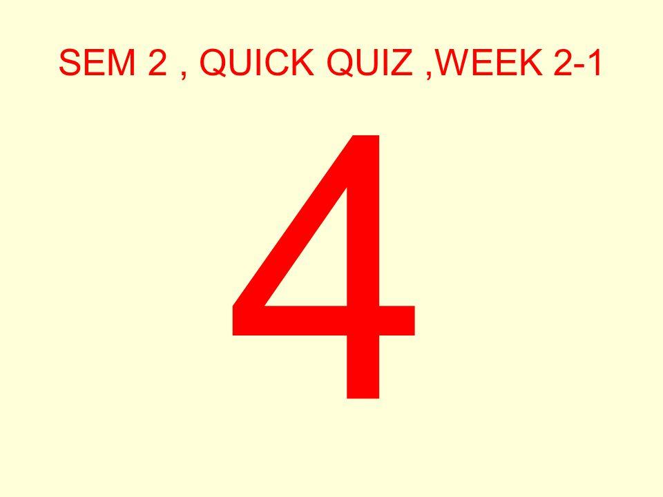 SEM 2, QUICK QUIZ,WEEK 2-1 5