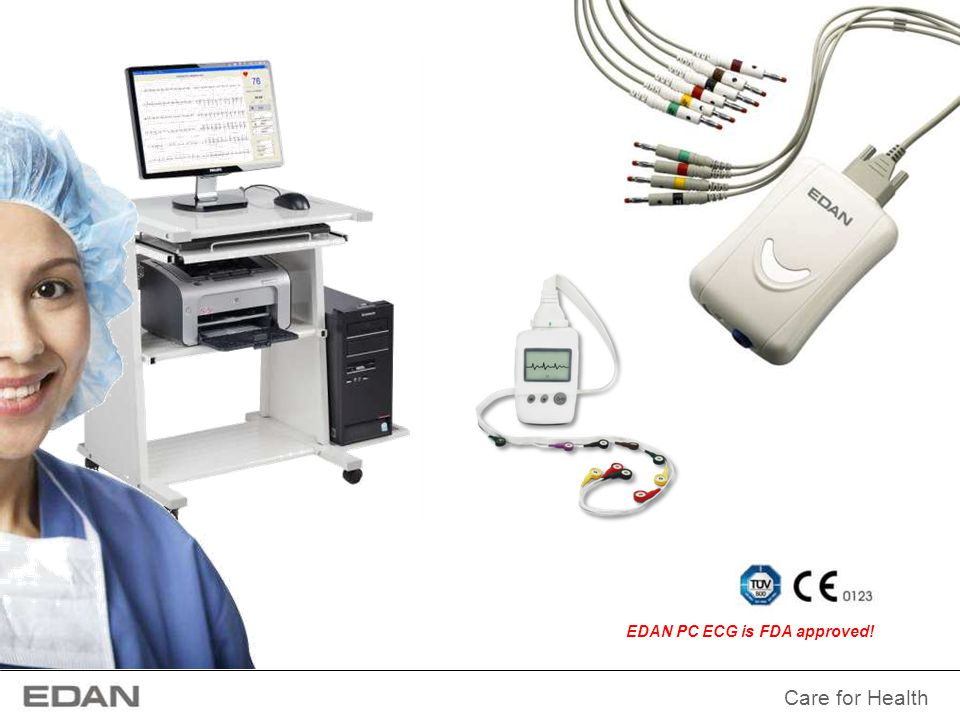 Care for Health Advanced Resting ECG Analysis Functions In order to fulfill the requirements of higher-level cardiology tests, EDAN PC ECG offers you advanced options for QTD, FCG & HF ECG in resting ECG analysis besides the normal analysis function.