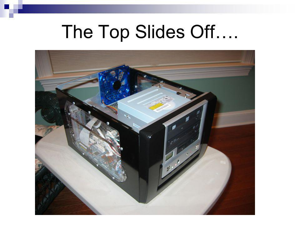The Top Slides Off….