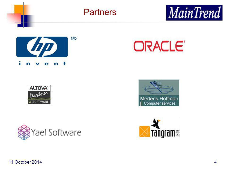 11 October 20144 Partners