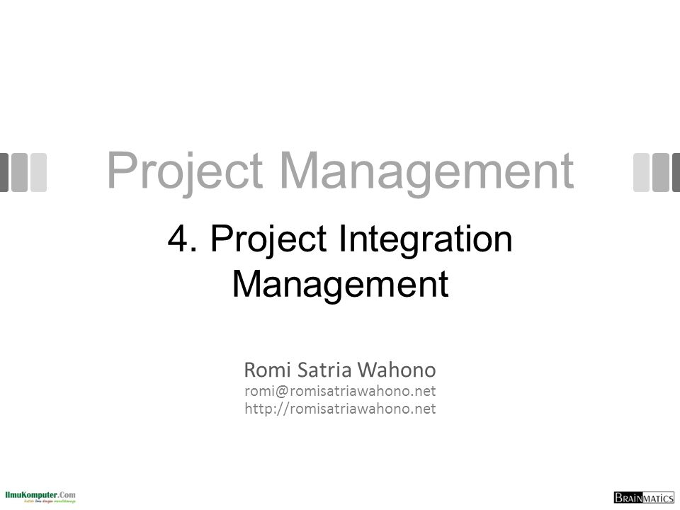 Configuration Management Ensures that the descriptions of the project's products are correct and complete Involves identifying and controlling the functional and physical design characteristics of products and their support documentation Configuration management specialists identify and document configuration requirements, control changes, record and report changes, and audit the products to verify conformance to requirements See www.icmhq.com for more information 52