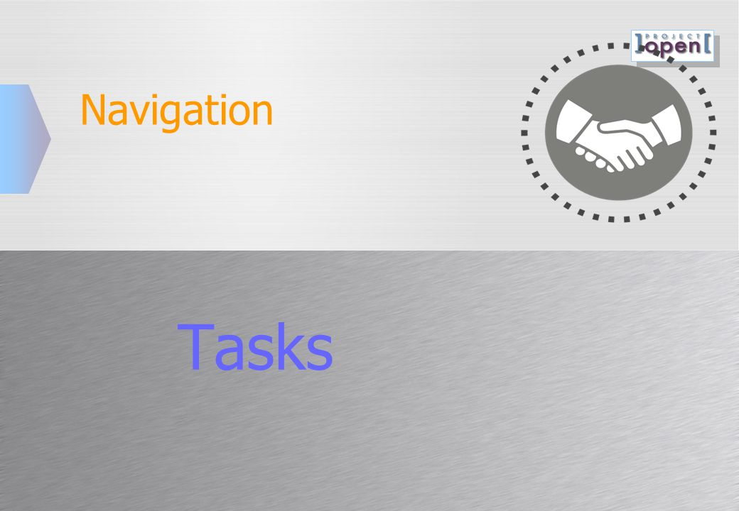 Navigation Tasks