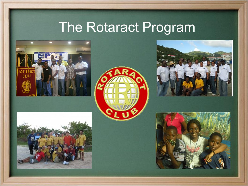● What is the Rotaract program.● How does a Rotary Club benefit from sponsoring a Rotaract Club.