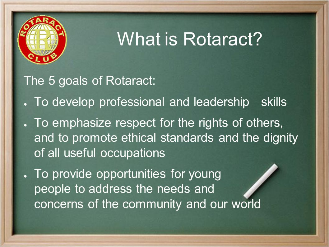 Pitfalls to Avoid A comment we often hear from Rotarians is, We tried Rotaract and it failed.