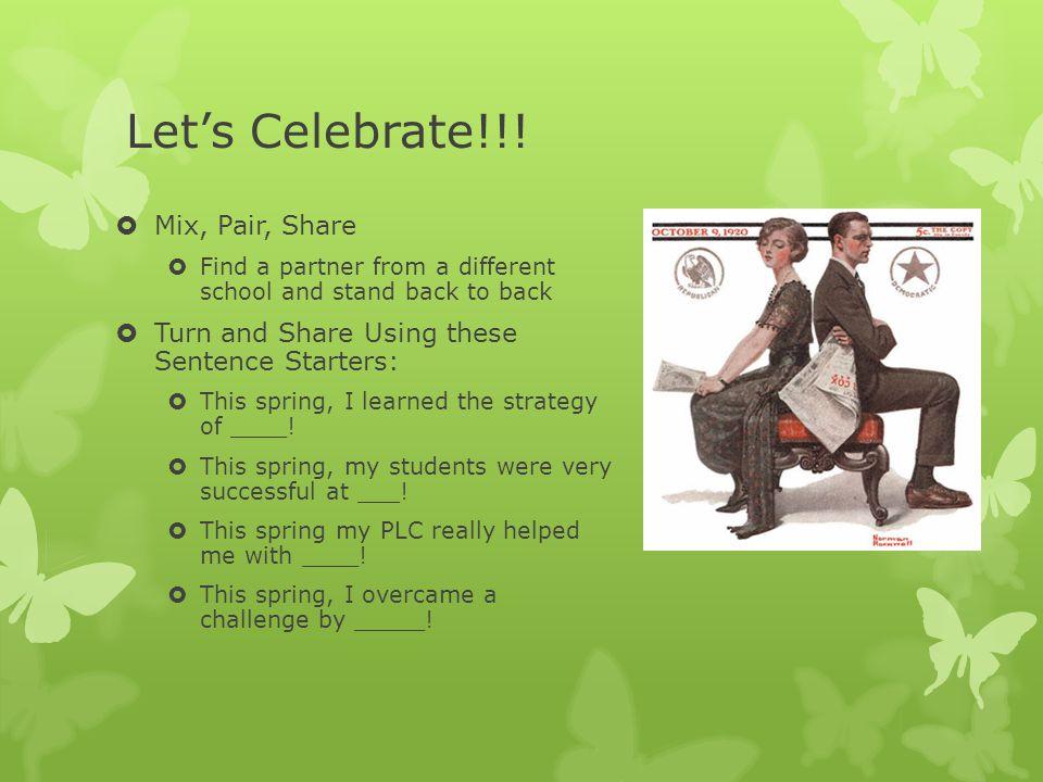 Let's Celebrate!!.