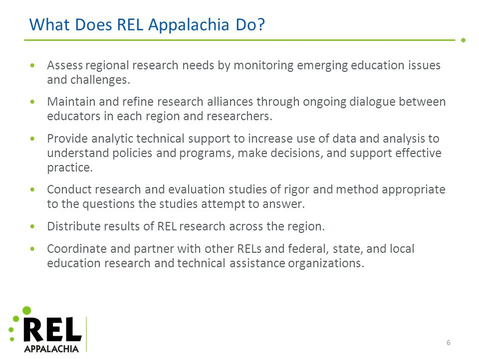 7 Virginia Middle School Research Alliance Goals