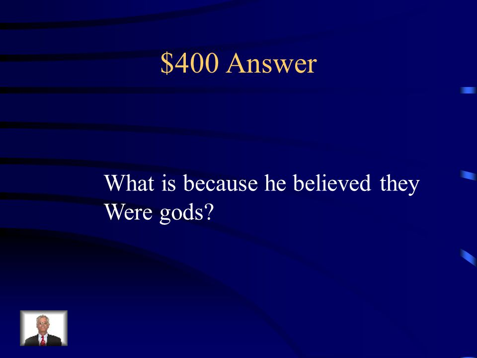 $400 Question from European Exploration This is the reason that Montezuma Was nice to the European Explorers Upon their arrival
