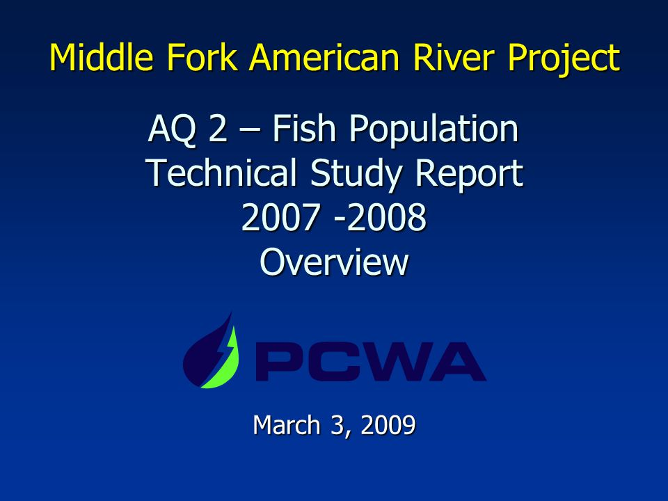 31 2007 Trout Size Rivers & Streams
