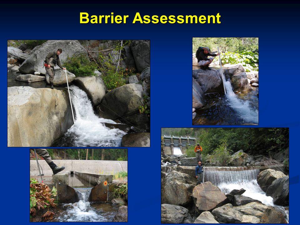 Barrier Assessment