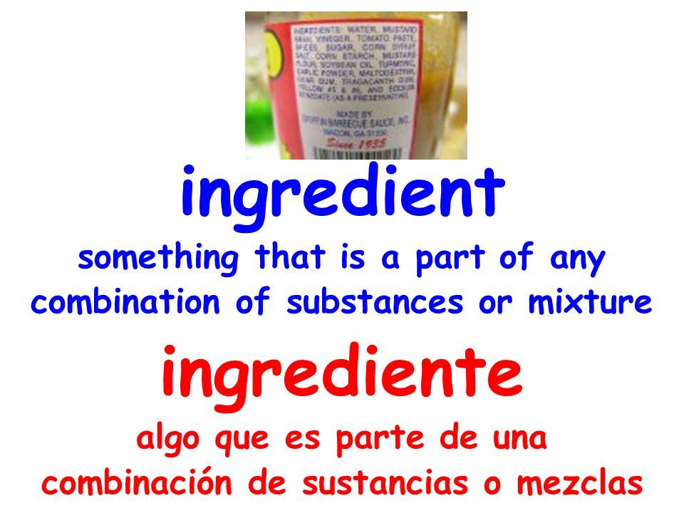 matter a substance that has mass and takes up space materia una sustancia que tiene masa y ocupa espacio