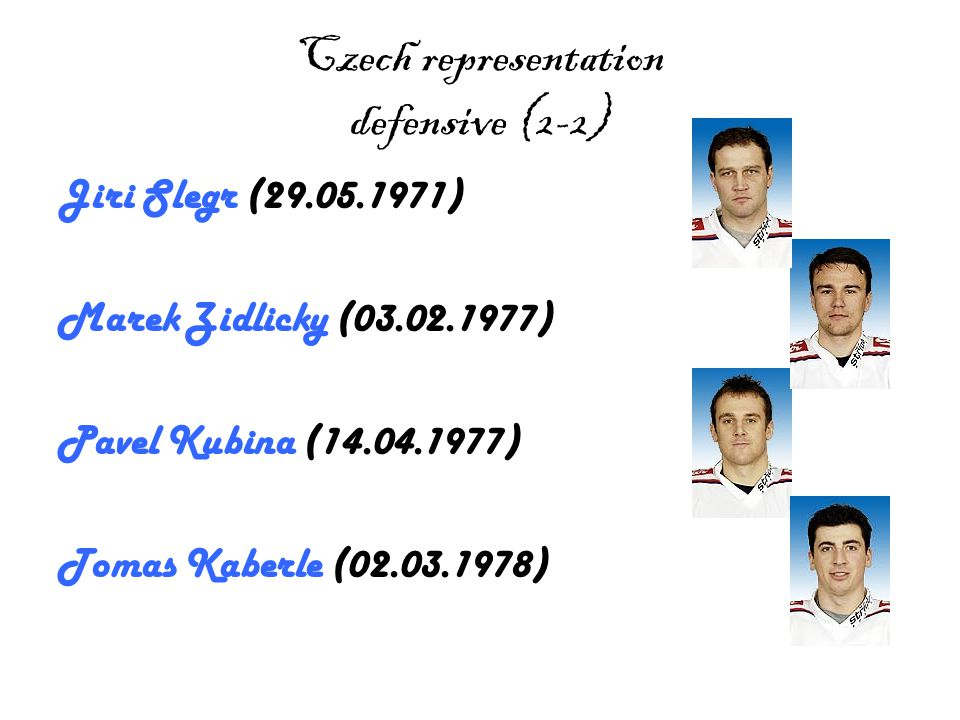 Jaromir Jagr Jaromir Jagr (15.2.1972) is a very good player.He was born in Kladno.