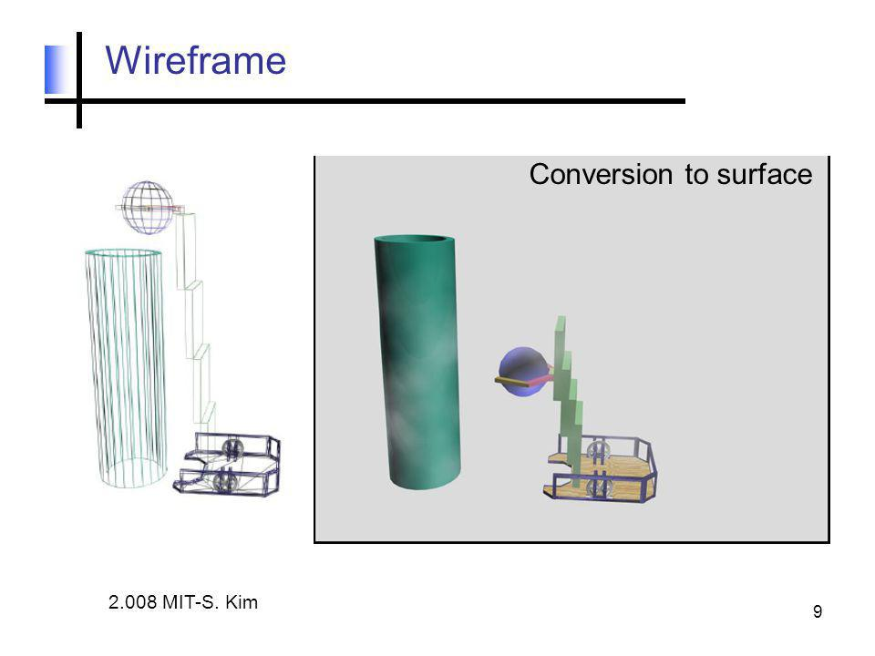 9 Wireframe Conversion to surface 2.008 MIT-S. Kim