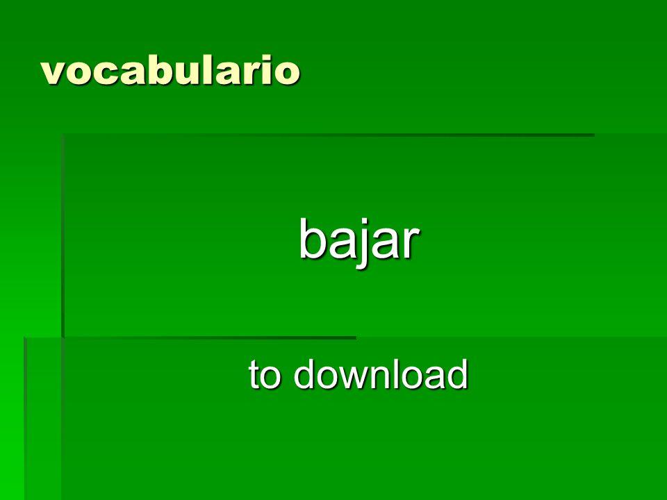 vocabulario bajar to download