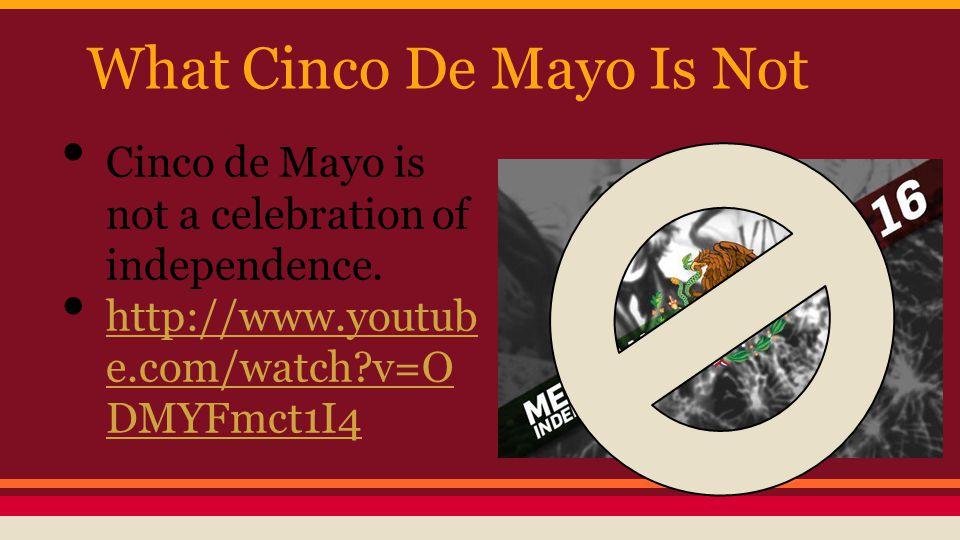 How Is Cinco De Mayo Celebrated parties parades dances foods papel picado http://www.youtube.com/w atch?v=54Eaw96nIk8 http://www.youtube.com/w atch?v=54Eaw96nIk8