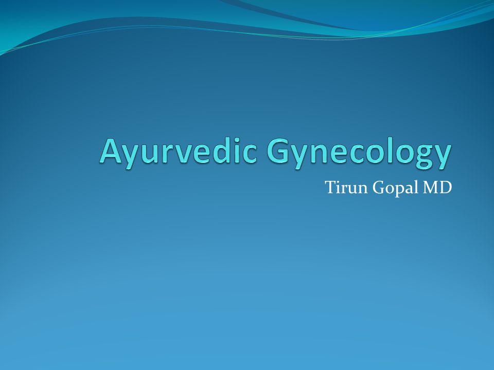 Suchi mukhi Pinhole os: Obstruction to free passage of blood and discharge. Hematometra Pyometra