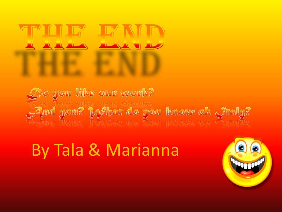 By Tala & Marianna