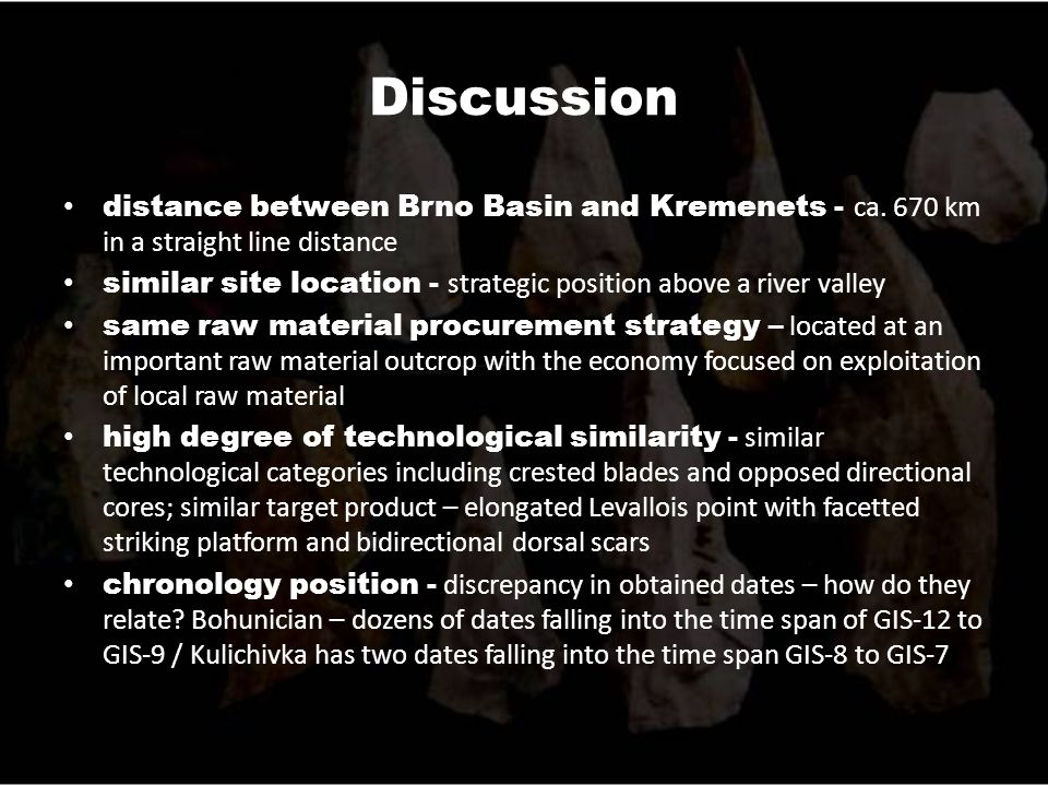 Discussion distance between Brno Basin and Kremenets - ca.