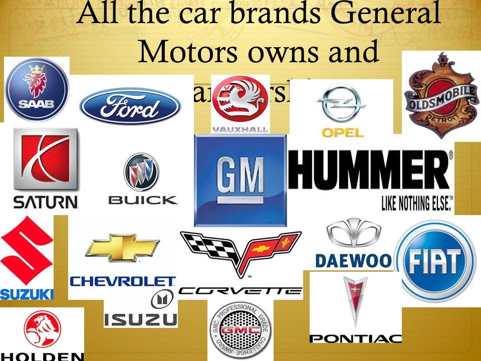 General Motors Financially  Revenue  US$ 135.592 billion (2010)  Operating income  US$ 5.084 billion (2010)  Net income  US$ 6.172 billion (2010)  Total assets  US$ 138.898 billion (2010)  Total equity  US$ 36.180 billion (2010)  Employees  209,000 (2010)