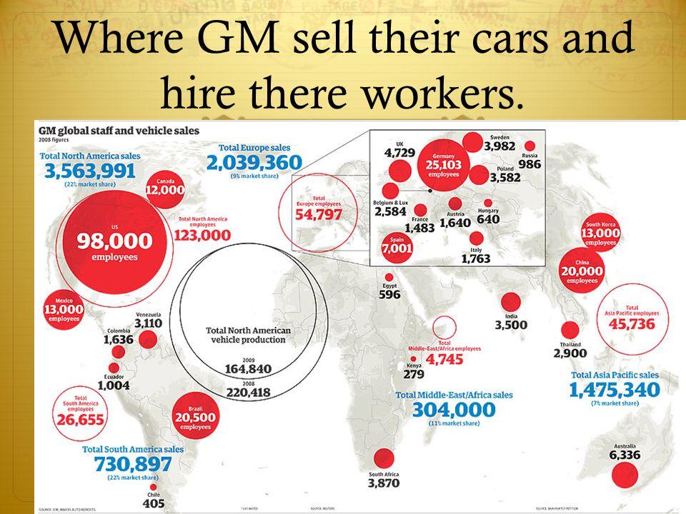 Advances in GM's cars
