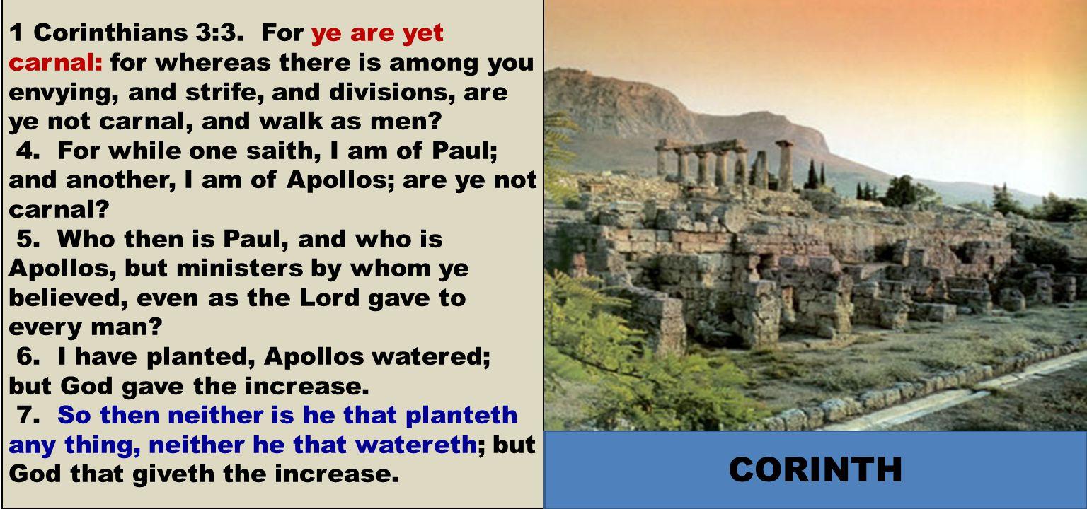 1 Corinthians 3:3.