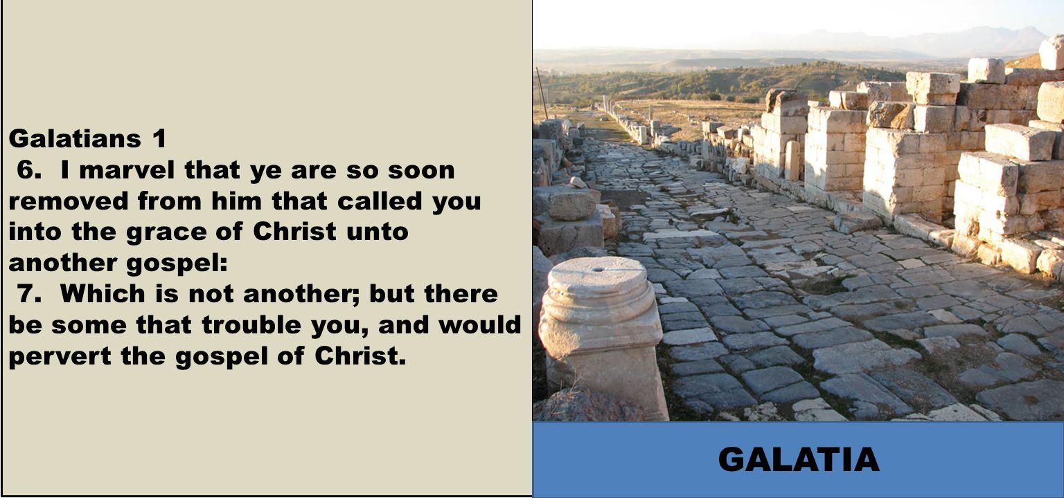 Galatians 1 6.