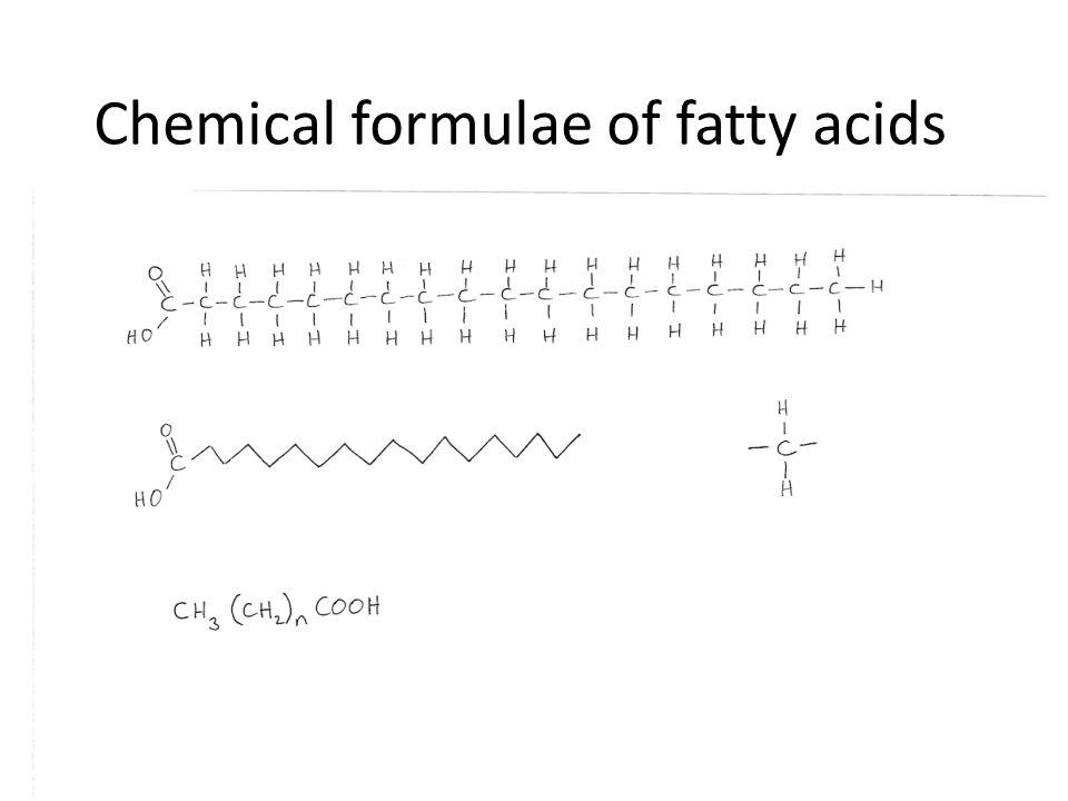 Longer-chain fatty acids C20:5n-3eicosapentaenoic EPA C22:6n-3docosahexaenoic DHA C20:4n-6arachidonic Marine fish elongate C18 and have a lot of n-3 Fresh water fish have more n-6