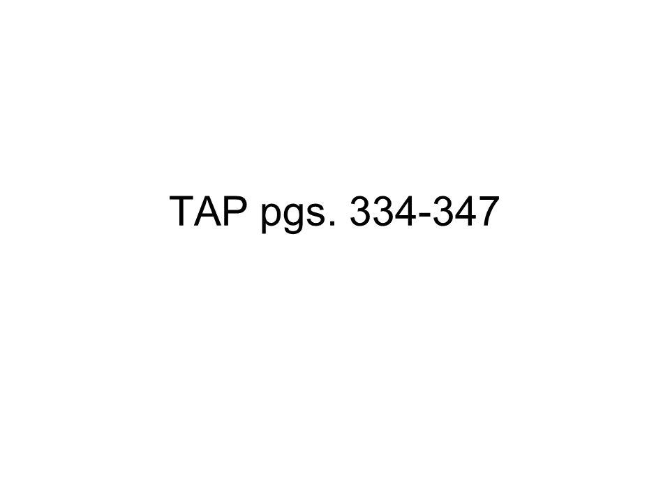 TAP pgs. 334-347