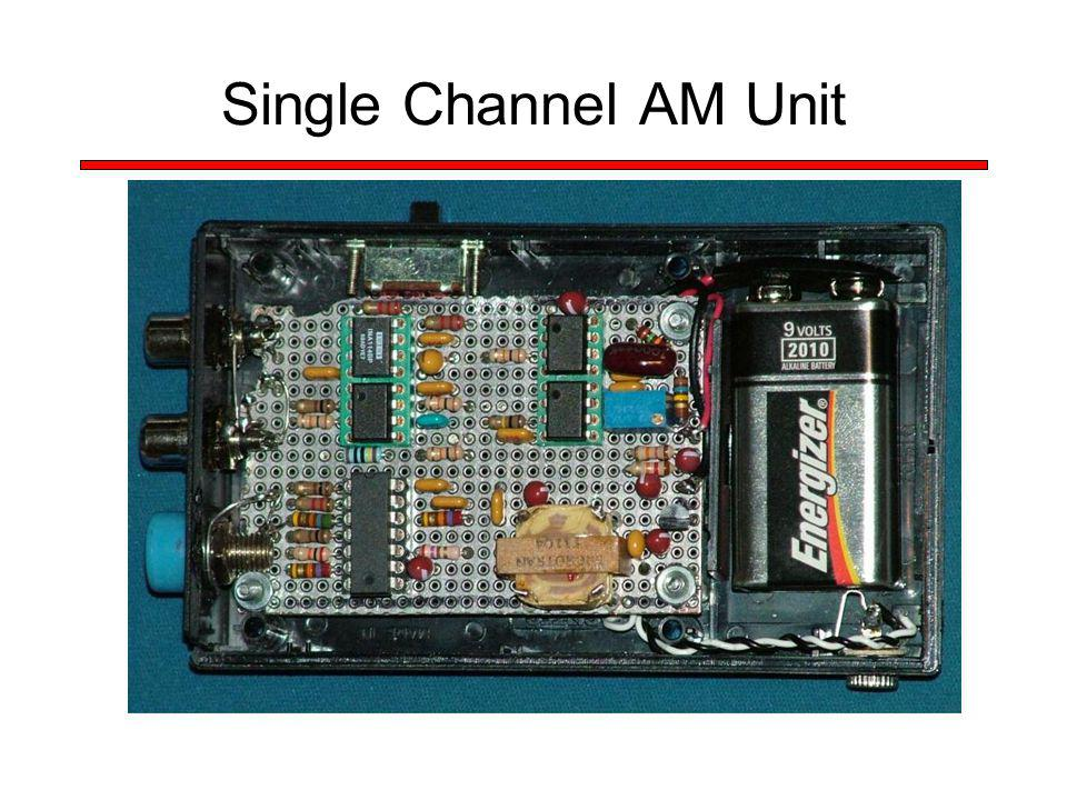 Single Channel AM Unit