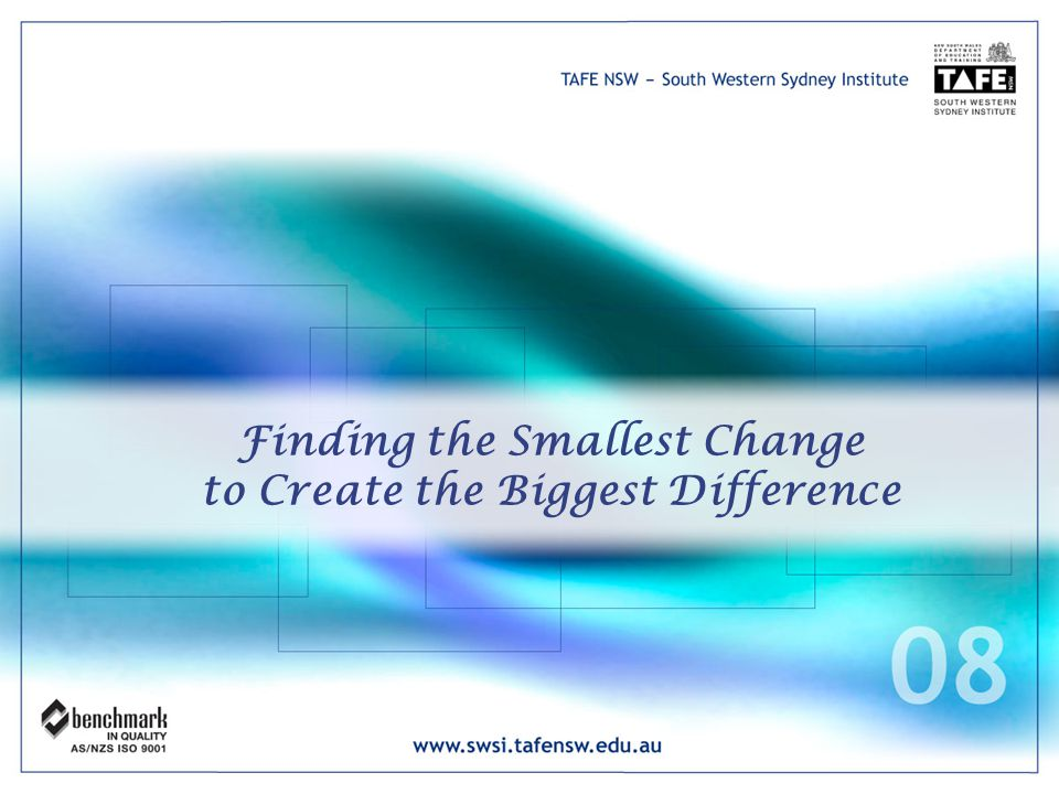 Finding the Smallest Change to Create the Biggest Difference